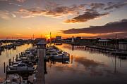 Brian Wright - Gulfport Harbor sunset