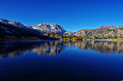 Aspen Fall Colors Photos - Gull Lake Sunrise in Fall by Scott McGuire