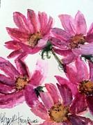 Gull Lake's Flowers Print by Sherry Harradence