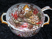 Crawfish Ceramics - Gumbo Dish by Pat McClendon