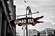 Gumbo Posters - Gumbo File Poster by Bill Cannon
