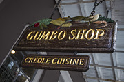 Gumbo Posters - Gumbo Shop Poster by John McGraw
