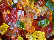Gummy Candy Prints - Gummy Bears Print by Tilen Hrovatic