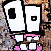 Tooth Mixed Media Prints - Gums Print by Voodo Fe