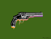 Whimsy Mixed Media - Gun 3 by Mark Ashkenazi