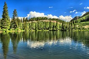 Gunnison Framed Prints - Gunnison Dollar Lake Framed Print by Adam Jewell