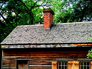 Gunsmith Prints - Gunsmith Shop Roof Print by Randall Weidner