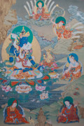 Thangka Paintings - Guru Orgyen Dorje Chang by Binod Art School