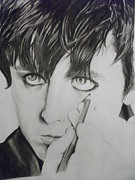 Green Day Art - Guyliner by Andrea Carrasco