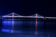 Pusan Prints - Gwangalli Bridge Print by Goy Tex