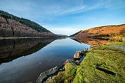 Gwydyr Forest Lake Print by Adrian Evans