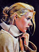 Gwyneth Paltrow Framed Prints - Gwyneth Framed Print by Anthony Sell