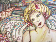Daydream Prints - Gypsy Angel Print by Sherry Sharp