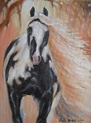 Tinker Horse Art - Gypsy Dawn by Louise Green