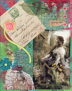 Gypsy Mixed Media - Gypsy Girl by Tamyra Crossley