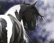 Digital Paintings - Gypsy Horse by Kate Black