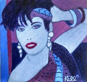 90s Painting Originals - Gypsy Pop by Kayla Ellsworth