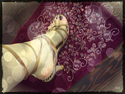 Absinthe Art  By Michelle Scott - Gypsy Shoes