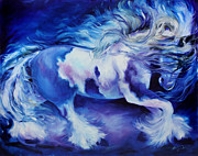 Marcia Baldwin - GYPSY VANNER in BLUE