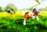 Gypsy Digital Art - Gypsy Vanner by Valerie Anne Kelly