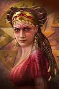 Gypsy Woman Print by Ciro Marchetti