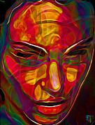 H3ad Sh0ts 20 Print by Byron Fli Walker