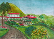 Cerro Paintings - Hacienda Gripinas Old Coffee plantation by Frank Hunter