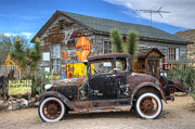 Kicks Prints - Hackberry Arizona Route 66 Print by Bob Christopher