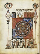 Miniatures Art - Haggadá, Hebrew Codex Of Catalan Or by Everett