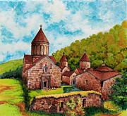 Armenian Paintings - Haghartzin  by Toros Zaroukian