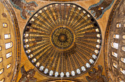 Religious Art Photos - Hagia Sofia ceiling by Antony McAulay