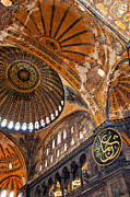 Religious Art Photos - Hagia Sofia Interior 01 by Antony McAulay
