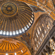 Religious Art Photos - Hagia Sofia Interior 04 by Antony McAulay