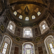 Religious Art Photos - Hagia Sofia Interior 06 by Antony McAulay