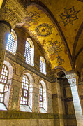 Religious Art Photos - Hagia Sofia Interior 10 by Antony McAulay