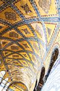 Hagia Sofia Interior 16 Print by Antony McAulay