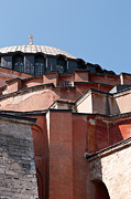 Haghia Sophia Mosque Prints - Hagia Sophia Angles 02 Print by Rick Piper Photography