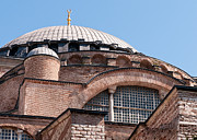 Haghia Sophia Mosque Prints - Hagia Sophia Curves 01 Print by Rick Piper Photography