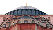 Haghia Sophia Mosque Prints - Hagia Sophia Curves 02 Print by Rick Piper Photography