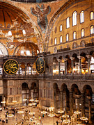 Haghia Sophia Mosque Prints - Hagia Sophia Interior 05 Print by Rick Piper Photography