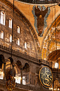 Haghia Sophia Mosque Prints - Hagia Sophia Interior 07 Print by Rick Piper Photography