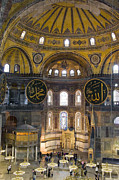 Cliff C Morris Jr Posters - Hagia Sophia Scene Five Poster by Cliff C Morris Jr