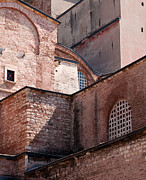Haghia Sophia Mosque Prints - Hagia Sophia Walls 02 Print by Rick Piper Photography