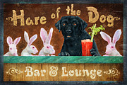 Lab Metal Prints - Hair of the Dog Metal Print by JQ Licensing