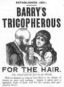 Barry Photos - Hair Restorative, 1887 by Granger