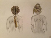 Corn Drawings - Hairstyles by Oasis Tone
