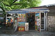 Haitian Photos - Haitian Art Shack by Alice Terrill