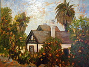 Victoria Painting Originals - Hal and Bills Home by Luz Perez
