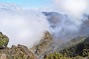 Haleakala Mists Print by Paulette B Wright