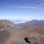 Rimrock Photos - Haleakala  Summit Maui Hawaii  by Sharon Mau